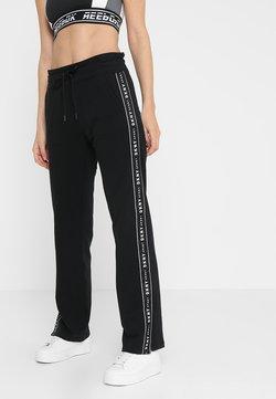 DKNY - TRACK PANT W/SIDE SLIT - Jogginghose - black