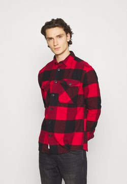 Only & Sons - ONSMILO LIFE HEAVY CHECK  - Camisa - fiery red