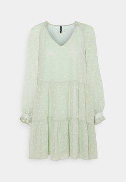 Pieces Petite - PCNUTSI DRESS - Day dress - desert sage