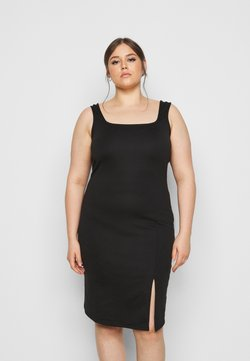 Vero Moda Curve - VMEDNA DRESS - Jerseykjole - black