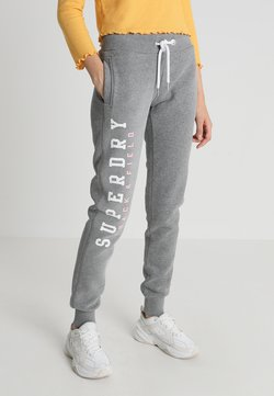 Superdry - TRACK AND FIELD  - Jogginghose - dark grey marl