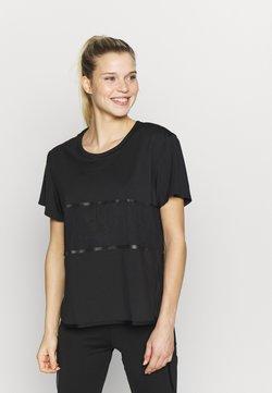 adidas by Stella McCartney - LOOSE TEE - Printtipaita - black