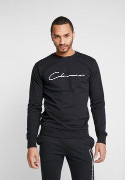 CLOSURE London - SCRIPT CREWNECK TRACKSUIT - Trainingspak - black
