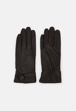 Anna Field - LEATHER - Fingerhandschuh - black