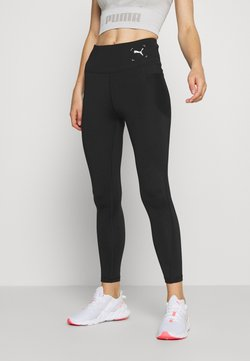 Puma - NU-TILITY HIGH WAIST 7/8 LEGGINGS - Tights - black