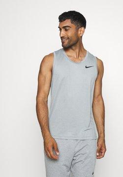 Nike Performance - TANK DRY - Funktionsshirt - smoke grey/black