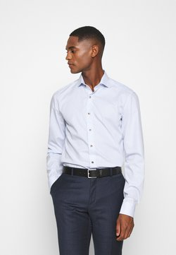 Eterna - SLIM FIT - Businesshemd - hellblau/weiß