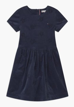Tommy Hilfiger - EMBROIDERED STAR - Sukienka koktajlowa - blue