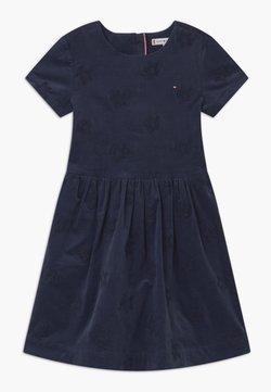 Tommy Hilfiger - EMBROIDERED STAR - Cocktailkleid/festliches Kleid - blue