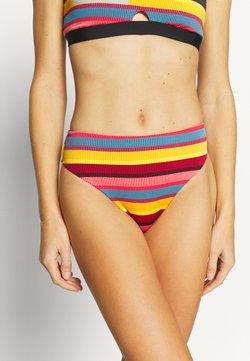 Seafolly - BAJA STRIPE HI RISE - Bikini-Hose - saffron