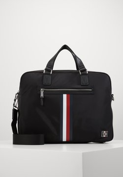 Tommy Hilfiger - CLEAN COMPUTER BAG - Portfölj - black