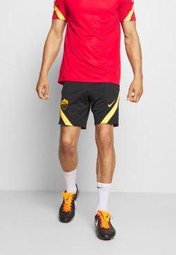 Nike Performance - AS ROM DRY SHORT - Pantalón corto de deporte - black/university gold/university gold