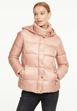 comma - SCHIMMERNDER OPTIK - Daunenjacke - powder rose