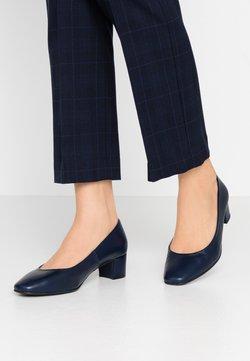 Brenda Zaro Wide Fit - WIDE FIT AINARA - Classic heels - navy