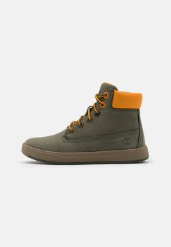 Timberland - DAVIS SQUARE UNISEX - Sneakers hoog - dark green
