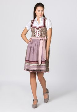 Stockerpoint - TALITA - Dirndl - nuss-bordeaux