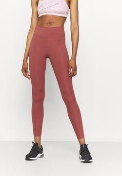 Nike Performance - ONE - Tights - canyon rust/white