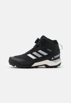 adidas Performance - TERREX WINTER MID BOA UNISEX - Snowboot/Winterstiefel - core black/silver metallic