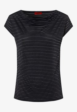 HUGO - T-Shirt print - marine