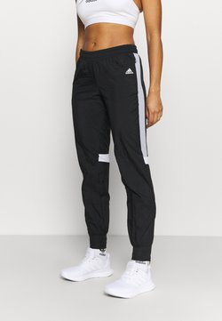 adidas Performance - TRACK PANT - Jogginghose - black/halo silver/white