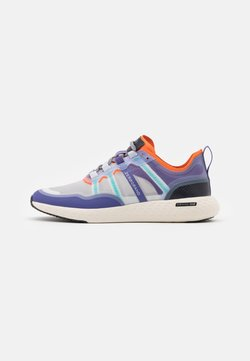 Cole Haan - ZEROGRAND OUTPACE RUNNER - Sneakers laag - golden poppy/periscope/corsican blue/ivory