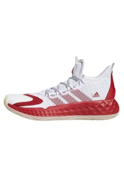 adidas Performance - PRO BOOST LOW SHOES - Sneakersy niskie - white/red