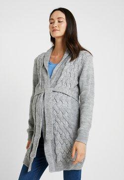 LOVE2WAIT - CARDIGAN CABLE - Vest - grey