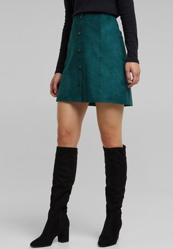 edc by Esprit - A-lijn rok - dark teal green