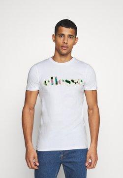 Ellesse - LANBRONE - Camiseta estampada - white