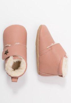 Bisgaard - WARM BABY STAR HOME SHOE - Chaussons pour bébé - nude