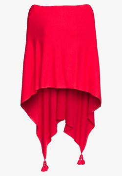 comma - PONCHO - Cape - milky red