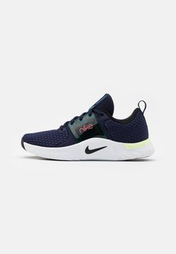 Nike Performance - RENEW IN-SEASON TR 10 - Kuntoilukengät - blackened blue/black/lagoon pulse