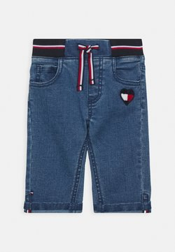 Tommy Hilfiger - BABY GIRL FLAG PANTS - Jeans slim fit - denim