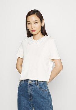 Vero Moda - VMDUNA COLLAR - T-shirt con stampa - birch