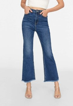 Stradivarius - Flared Jeans - blue