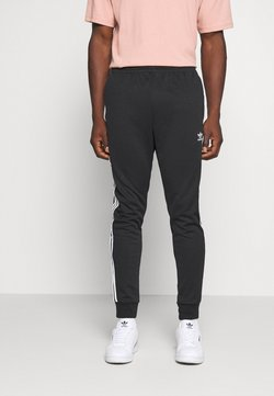 adidas Originals - UNISEX - Jogginghose - black/white