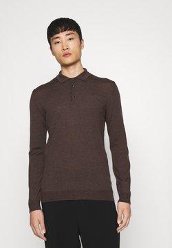 J.LINDEBERG - NOEL LIGHT - Stickad tröja - umber brown
