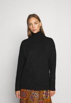 Anna Field - TURTLE NECK- WOOL BLEND - Jersey de punto -  black