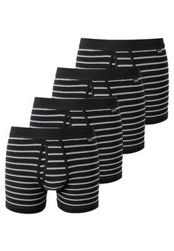 Schiesser - 4 PACK - Panties - schwarz