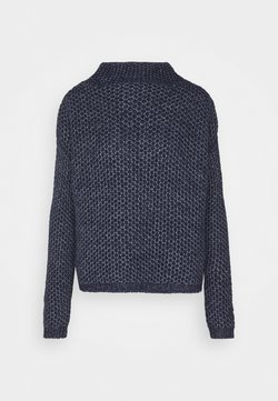 HUGO - SAFINEY - Strickpullover - open blue