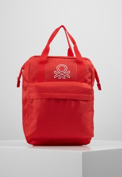 Benetton - BAG - Reppu - red