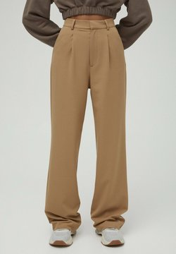 PULL&BEAR - Stoffhose - brown
