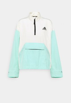 adidas Performance - BACK TO SPORT WIND RDY ANORAK - Outdoorjacke - cream white/clear mint