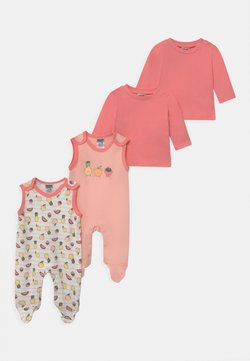 Jacky Baby - GIRLS 2 PACK - Pyjama - light pink/white