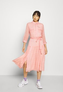 Esqualo - DRESS CANTALOUPE PRINT  - Blusenkleid - multi-coloured