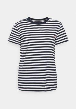 esmé studios - FIONA O NECK - T-Shirt print - dark sapphire