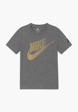 Nike Sportswear - CLUB FUTURA GRAPHIC TEE - T-shirt z nadrukiem - mottled grey