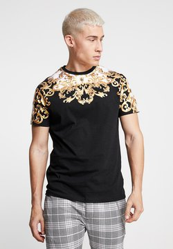 Brave Soul - SCROLL - T-shirt con stampa - black