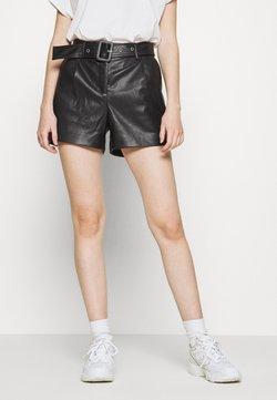 ONLY - ONYPEONY YSABELLE - Shorts - black