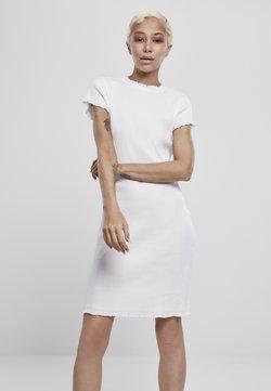 Urban Classics - Etuikleid - white